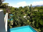 We rented a house in Cairns...this was the view.
