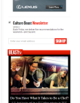 Email Option for Culture News