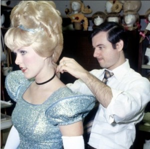 Cinderella gets ready at the Magic Kingdom - 1971