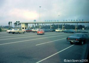 Toll Plaza at the Magic Kingdom, January 1972