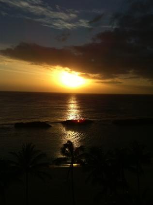 A Hawaiian Sunset, April 2012