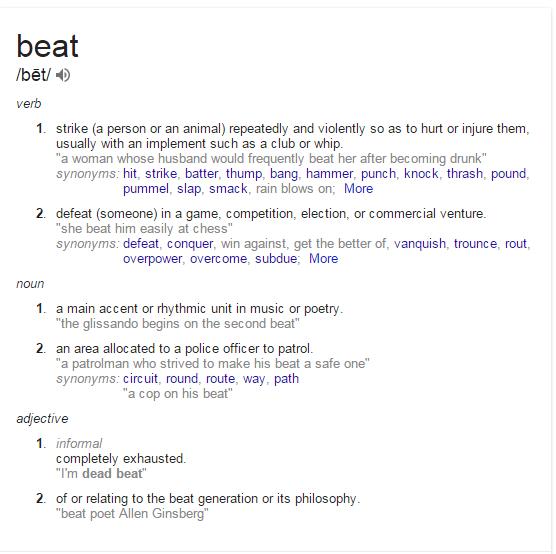 beatdefinition